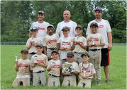Enon U8 Baseball Finishes Second